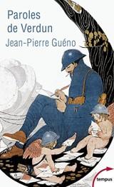 Paroles de Verdun [Poche]