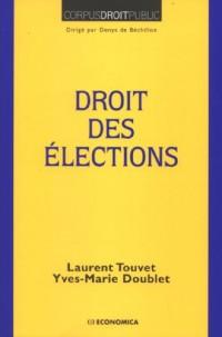 Droit des élections