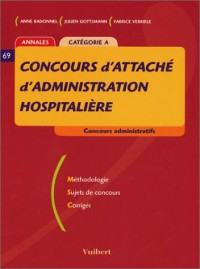 Concours d'attaché d'administration hospitalière Catégorie A