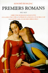 Premiers romans, tome 1 : 1822-1825