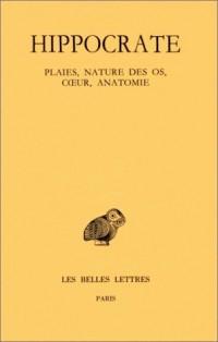 Hippocrate, tome 8. Plaies, nature des os, coeur, anatomie