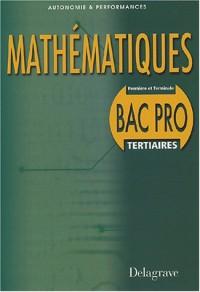Mathématiques Bac pro secteur tertiaire