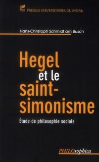 Hegel et le Saint Simonisme