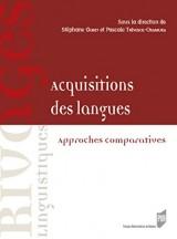 Acquisitions des langues: Approches comparatives et regards didactiques