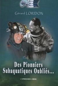 Des pionniers subaquatiques oubliés