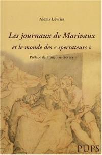 Les journaux de Marivaux et le monde des Spectateurs