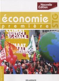 Economie 1e STG : Livre pochette