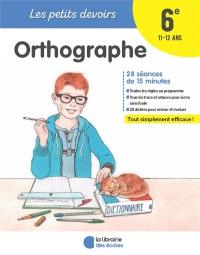 Orthographe 6e