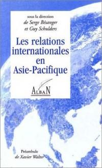 Les relations internationales en Asie-Pacifique