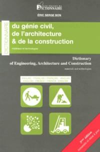 Dictionnaire Anglais Français Français Anglais du génie civil, de l'architecture et de la construction