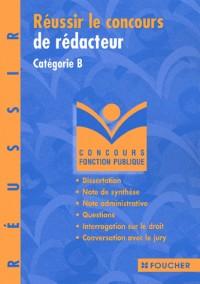 Réussir le concours de rédacteur : Catégorie B