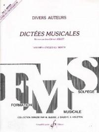 Dictées Musicales Volume 4 - Professeur