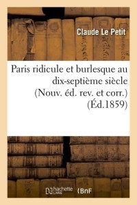 Paris Ridicule et Burlesque N ed  ed 1859