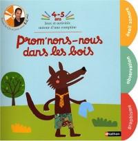 Promenons nous dans les bois 4/5 ans + cd - Nathan jeunesse