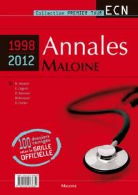 Annales Maloine Internat Ecn (1998-2012)