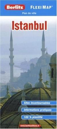 Plan d'Istanbul - Flexi Map plastifié