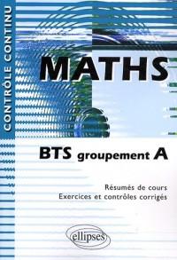Mathématiques BTS groupement A