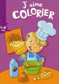 J'aime colorier (4-6 ans) (cuisine)