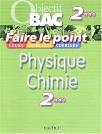Faire le point : Physique - Chimie, 2nde