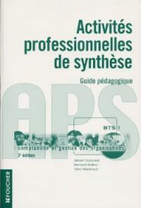 Comptabilité et gestion des organisations : Activités professionnelles de synthèse - APS 1, BTS (guide pédagogique + CD-ROM)