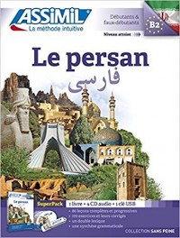 Le Persan Superpack (livre+4Cd audio+1clé USB)