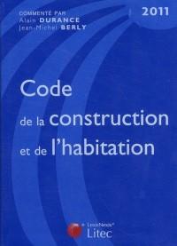 Code de la Construction et de l'Habitation 2011