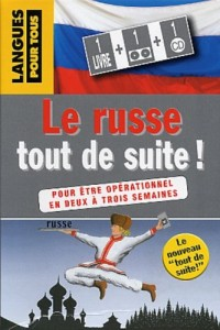 Le Russe tout de suite ! (Coffret 1 livre + 1 CD)