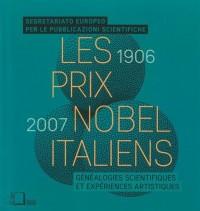 Les prix Nobel italiens (1906-2007)