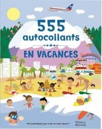 En vacances : 555 autocollants