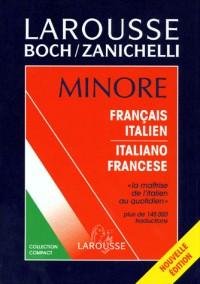 Larousse minore dict.français/italien  italiano / francese