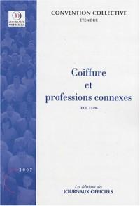 Coiffure et professions connexes