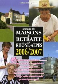Annuaire des Maisons de retraite en Rhöne-Alpes