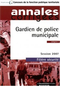Gardien de police municipale