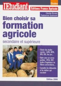 Bien choisir sa formation agricole secondaire et supérieure