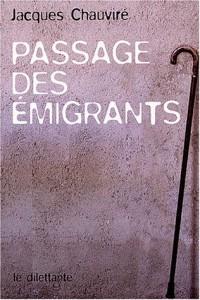 Passage des émigrants