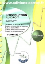 Introduction au droit UE1 du DCG : Corrigé