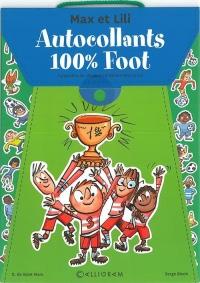 Pochette autocollant 100% Foot Max et Lili