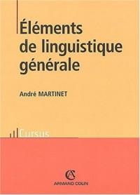 Eléments de linguistique générale