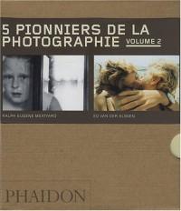 5 pionniers de la photographie : Volume 2, Eadweard Muybridge, Jacob Riis, Wynn Bullock, Ralph Eugene Meatyard, Ed Van der Elsken