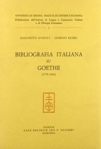 Bibliografia Italiana Su Goethe (1779-1965)