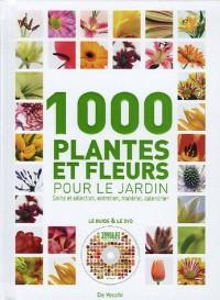 1000 Plantes et fleurs : Pour le jardin (1DVD)