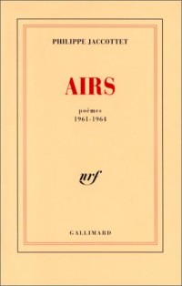 Airs : poèmes 1961-1964