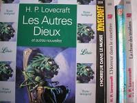 H. P. lovecraft - lot 5 livres : l'horreur dans le cimetiere - l'horreur dans le musée - les autres dieux - la chose des tenebres - l'ombre venue de l'espace