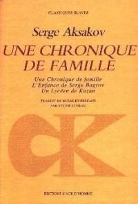 Une chronique de famille