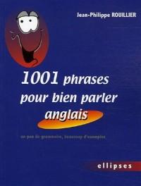 1001 phrases pour bien parler anglais