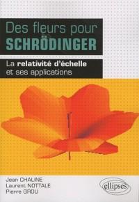 Des fleurs pour Schrödinger : La relativité d'échelle et ses applications