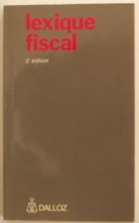 Lexique fiscal