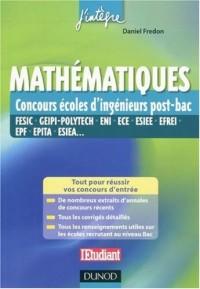 Mathématiques : Concours écoles d'ingénieur post-bac