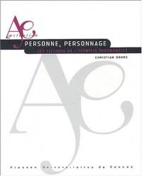Personne, personnage : Les fictions de l'identité personnelle