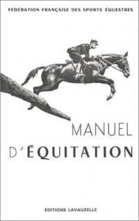 Manuel d'équitation